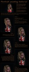Portrait painting tutorial by The-GP