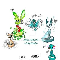 Adoptables 1# by StarArt101