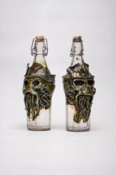 Davy Jones Poison Bottles by FraterOrion