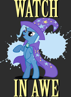 Watch in Awe Shirt by tygerbug