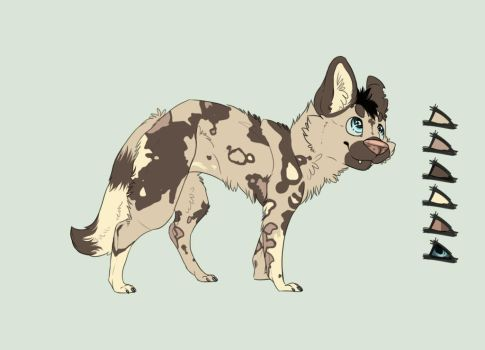 Custom African Wild Dog Adoptable by toby21342