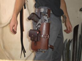 Nerf Holster Prototyp-1.5 by Leder-Joe