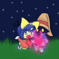 Distant Love, Eiko and Vivi by NycIX