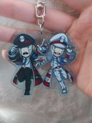 Subway Bosses acrylic charm by HPE24