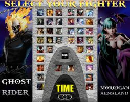 Marvel Horrors vs. Darkstalkers by sprite-genius