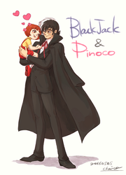 Black Jack and Pinoco by chacckco