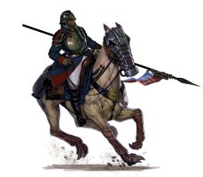 Deathkorps of Krieg rough rider by DiegoGisbertLlorens