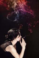 smoke on the wall... by basharbbr
