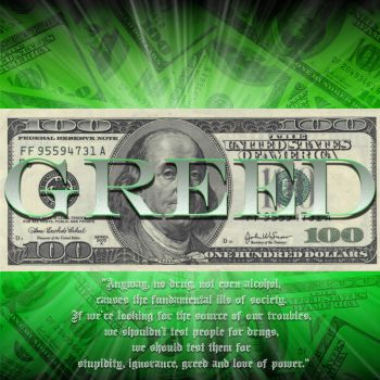Greed by DJdemise