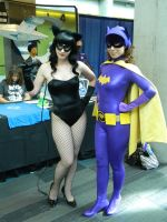 Catwoman and BatGirl by deathraven479