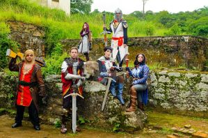 Dragon Age Keepers Photoshoot 01 by lpfaintgirl