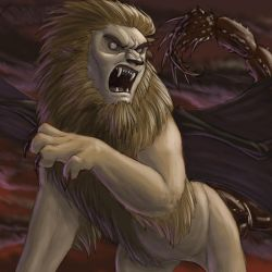 grrr manticore by hibbary