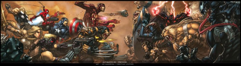 ULTIMATES 3 - FINAL COVER by liquidology