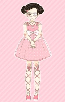 Dress-up Doll - warm by milky-toothy
