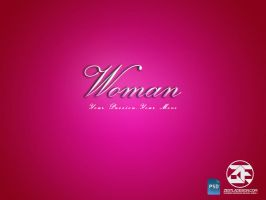 Woman PSD Layer Style Effect by zestladesign