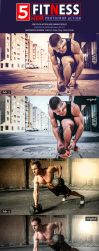 Fitness HDR Photoshop Action by Kluzya