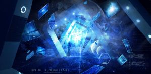 Core Of The Portal Planet by adoreluna