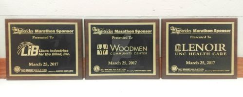 STRIDES Event Plaques by simplemanAT