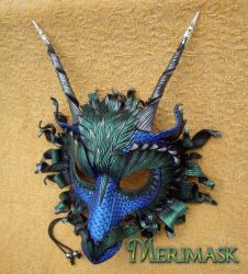 Great Dragon...custom colors by merimask