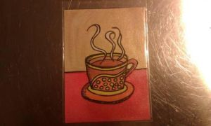 Coffee ATC by mintdawn