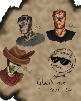 Ghouls by Adela555