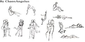 Some more poses by ChaosAngelus