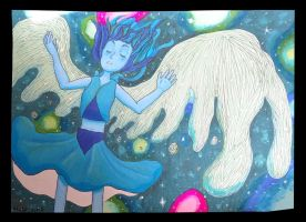 lapis a part of the universe by maskedink