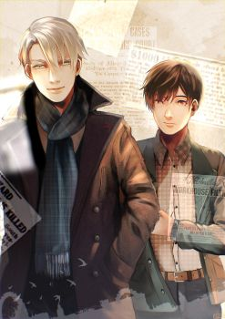 Not Obvious - It's Victuri Sherlock AU by NagisaFelicia