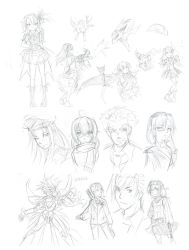 2013 Sketchdump 1 by L-Rossfellow