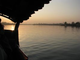 Twilight - Dal Lake, India by phoenix1584