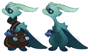 [Potion Sippers] Stealthy Tides NOT AN ADOPT by Fumi-LEX
