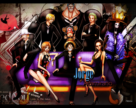 Wallpaper One Piece by appleonia