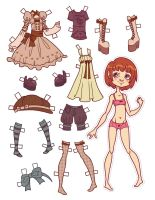 100 Watchers Paperdoll Freebie by catiniata