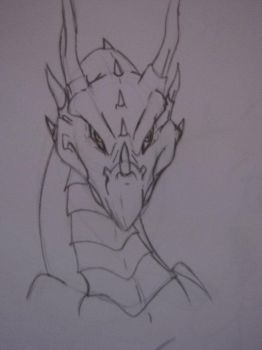 My First Dragon Attempt by Gaby787