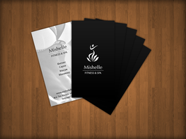 Business Cards for Mishelle Fitness and SPA by Jambazov