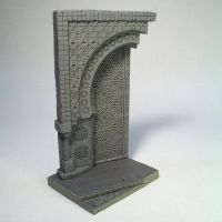 Arabic door for 54mm figure by thecarcass