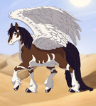 Wind Glider the mythical horse by LyricArchive