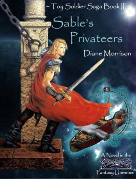 Sable's Privateers Book Cover by SableAradia