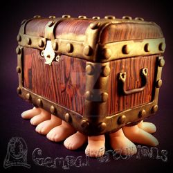 Handmade Polymer Clay Luggage Discworld by Gempai-Creations