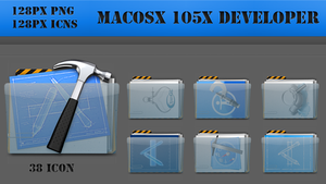 MacOSX 105X Developer Icon by Tusba