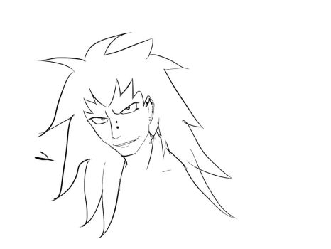 Gajeel Quick sketch by Jexsical