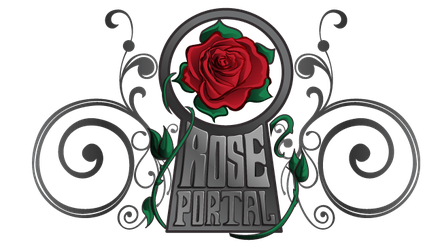 Rose Portal Games Company Logo by dragonmun