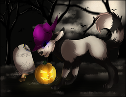 Happy Halloween! by Mishamutt