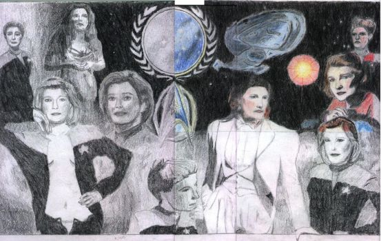 Captain Janeway Collage by camir