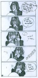 Snape in the Bathroom by NorthAngel25
