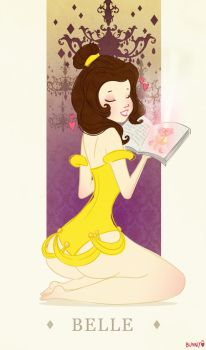 Belle by bunnycoffee