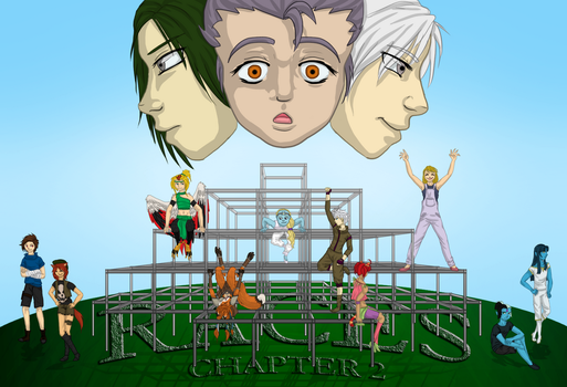 Chapter 2 Cover Page - Races by nic-anime