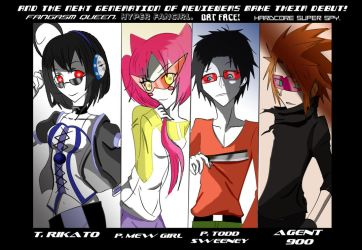 The Generation 2 Reviewers! by Billiam-X