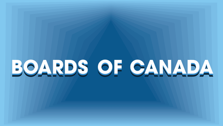 Boards of Canada - Blue Monochromatic Wallpaper by EpicBlargman