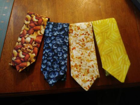 Photo Realistic Neckties by MechanicalApple